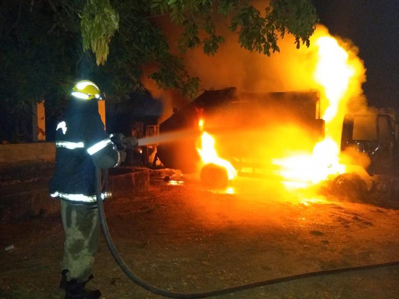 incêndio em Nazária