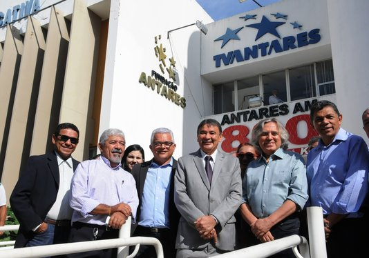 wellington dias inaugura sinal digital da tv antares