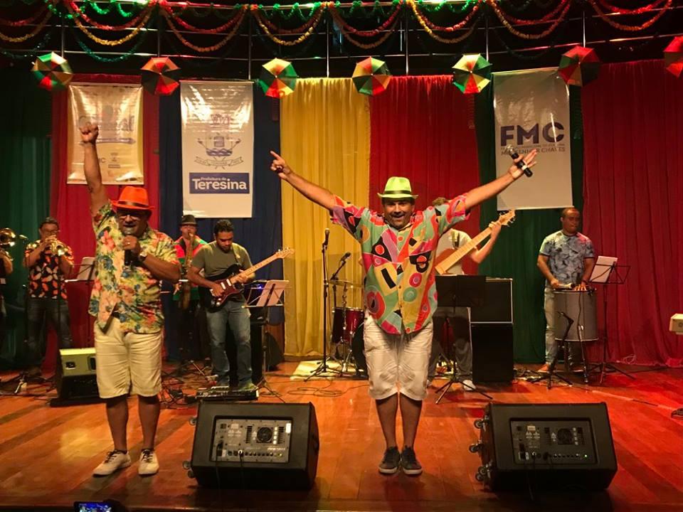concurso de músicas carnavalescas de Teresina
