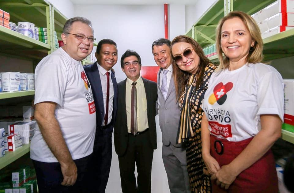 inauguração farmácia do povo Teresina