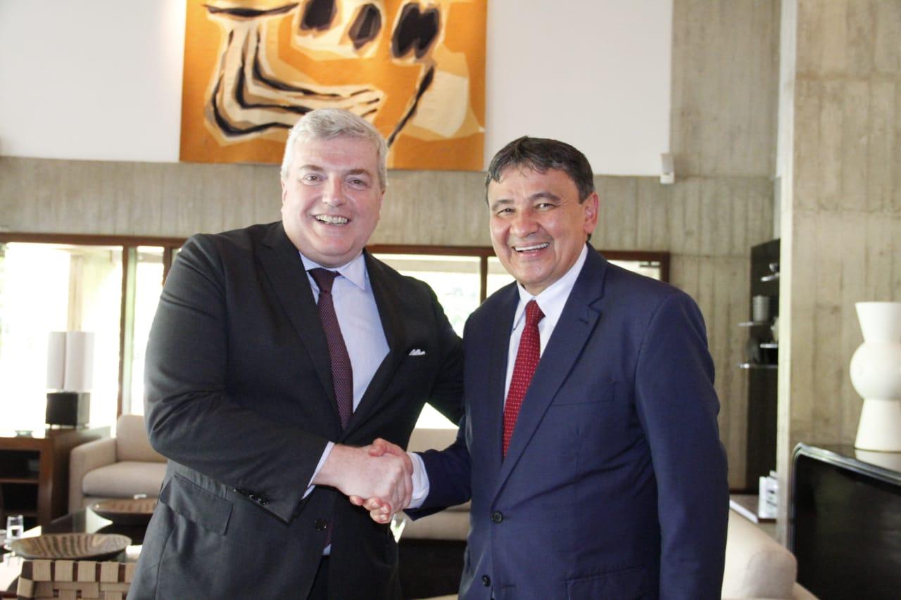 wellington dias e embaixador da França no Brasil