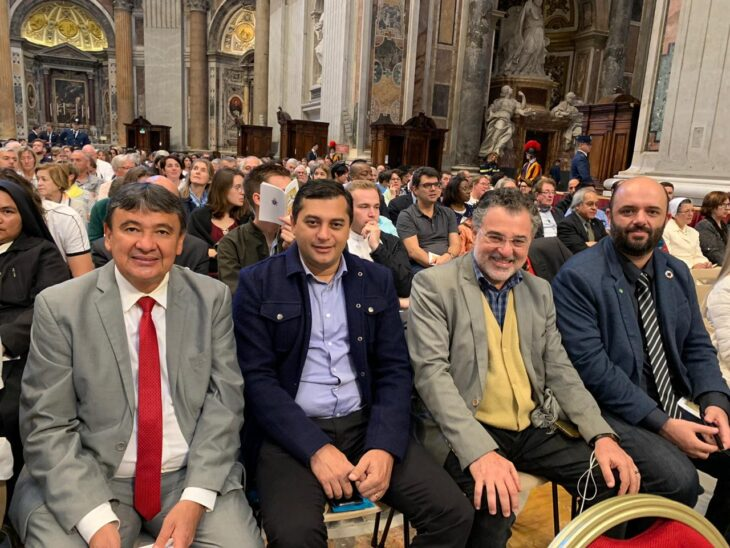 wellington dias no Vaticano