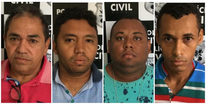 divulgação de presos por estupro em Teresina