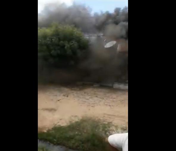 militar incendeia própria casa na zona sul de Teresina