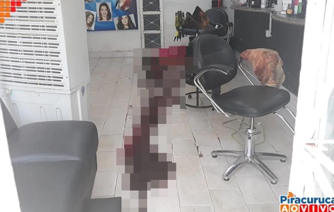 mulher assassinada dentro de salão em piracuruca