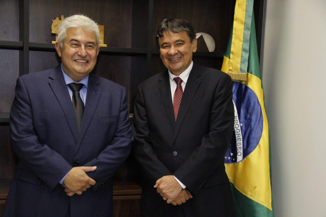 Wellington Dias e Marcos Pontes