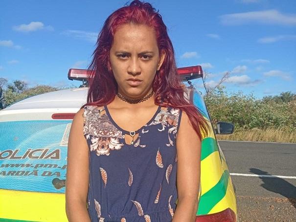 jovem presa com cocaína no Piauí - Oeiras